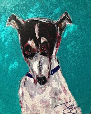 Painting - Mr. Stubbs by Joyce Goldin