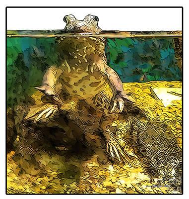 Mr. Toad Art Print by Joan  Minchak