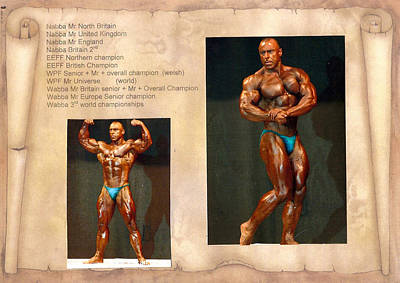 Photograph - Mr Universe by Kenneth Clarke