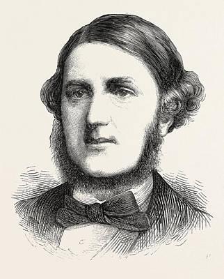 Vern Drawing - Mr. Vernon Harcourt, Q.c by English School
