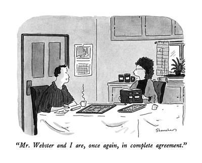 Mr. Webster Art Print by Danny Shanahan