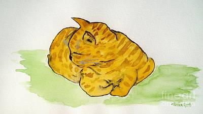 Mr. Yellow Art Print by Reina Resto