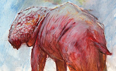 Eerie Painting - Mrbigpig by Ethan Harris