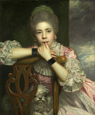 Barton Painting - Mrs. Abington As Miss Prue In Love For Love By William by Litz Collection