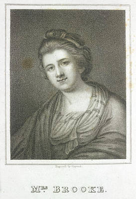 Mrs. Brooke Print by British Library