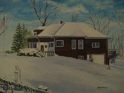 Painting - Mrs. B's House by Kendra Sorum