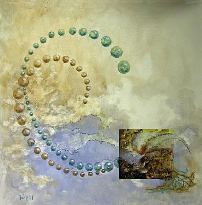 Decoupage Mixed Media - Mrs Ciba by L Topel