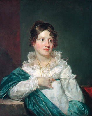 Painting - Mrs. Daniel Desaussure Bacot by Samuel Finley Breese Morse