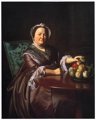 Mrs Ezekial Goldhwaite Art Print by John Singleton Copley