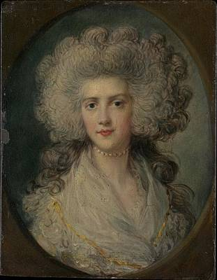 Dupont Painting - Mrs. John Puget Catherine Hawkins by Attributed to Richard Gainsborough Dupont