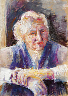 Painting - Mrs K. Remembering by Barbara Pommerenke