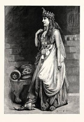 Mrs. Langtry As Cleopatra Art Print