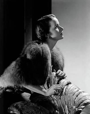 Hemingway Photograph - Mrs Marshall Hemingway by Horst P. Horst