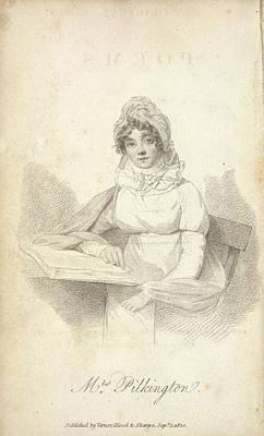 Mrs Pilkington Art Print