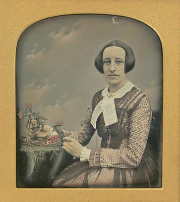 Mrs. R. Holdsworth Richard Beard, British, 1802 - 1888 Art Print by Litz Collection