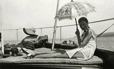 Leisure Photograph - Mrs. Reginald Fellowes And Lady Juliet Duff by Cecil Beaton