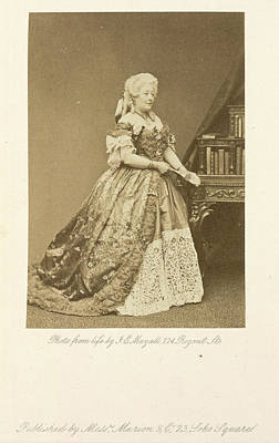 John Mayall Photograph - Mrs. Stirling by British Library