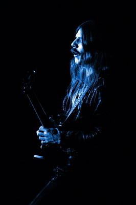 Photograph - Mrush #11 In Blue by Ben Upham