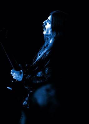 Photograph - Mrush #13 In Blue by Ben Upham