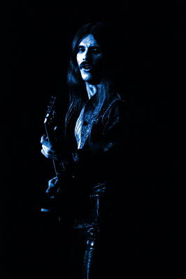 Photograph - Mrush #16 In Blue by Ben Upham