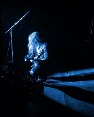 Photograph - Mrush #23 In Blue by Ben Upham