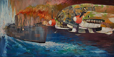 Painting - Ms Brisbane Star by Ray Agius