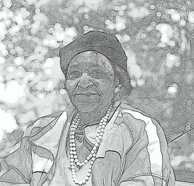 Ms. Ida  Art Print by Rosemarie E Seppala