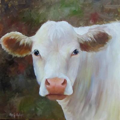 Painting - Ms Petunia by Cheri Wollenberg