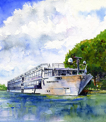 Painting - Ms River Splendor by John D Benson