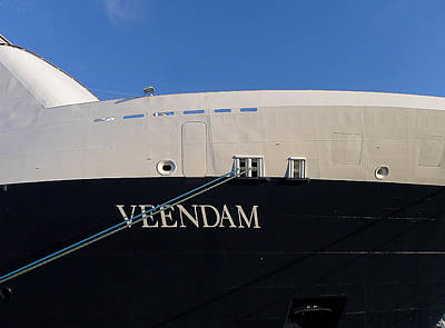 Photograph - Ms Veendam by Richard Reeve