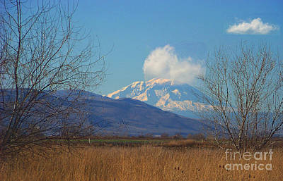 Wapato Photograph - Mt Adams - North Side by Charles Robinson