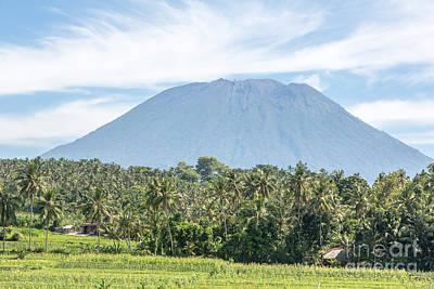Mt Agung Art Print
