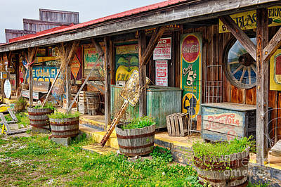Mt. Airy Old Country Store I Art Print by Dan Carmichael