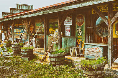Mt. Airy Old Country Store II Art Print by Dan Carmichael