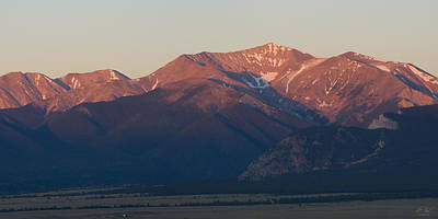Photograph - Mt. Antero Sunrise by Aaron Spong
