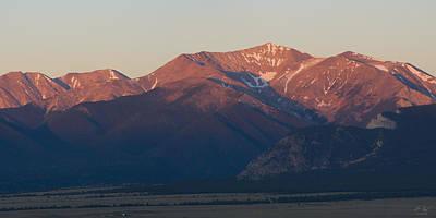 Photograph - Mt. Antero Sunrise by Aaron Spong