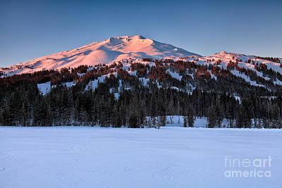 Photograph - Mt. Bachelor At Dawn by Stuart Gordon
