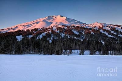 Photograph - Mt. Bachelor At Dawn by Stuart Gordon