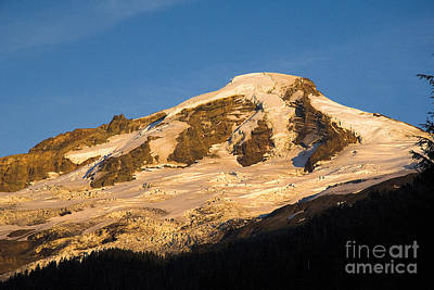 Art Print featuring the photograph Mt.baker At Sunset  by Yulia Kazansky