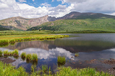 Rocky In Spring Photograph - Mt. Bierstadt by Aaron Spong
