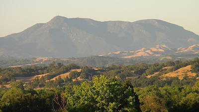 Art Print featuring the photograph Mt. Cali by Shawn Marlow