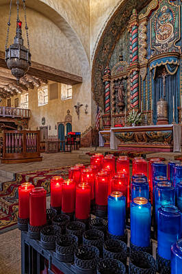 Photograph - Mt Carmel Altar by Thomas Hall
