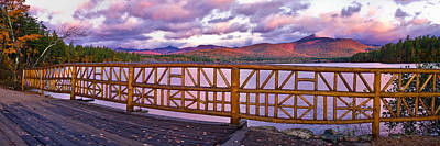 Photograph - Mt Chocorua Autumn Panorama by Jeff Sinon
