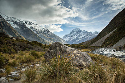 Photograph - Mt Cook by Brad Grove