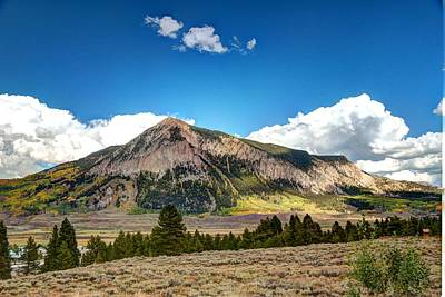 Photograph - Mt. Crested Butte 2 by Allen Beatty