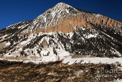 Photograph - Mt Crested Butte by Adam Jewell