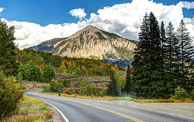 Photograph - Mt. Crested Butte by Allen Beatty
