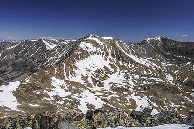 Ers Photograph - Mt. Democrat by Aaron Spong