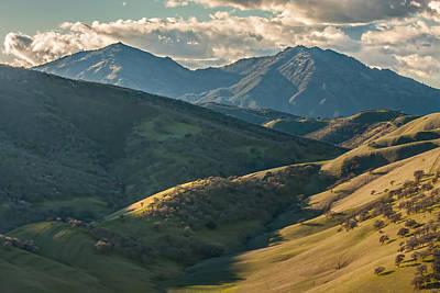 Mt. Diablo Photograph - Mt Diablo And Afternoon Shadows by Marc Crumpler