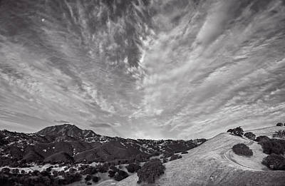 Mt Diablo And Ridge Trail Art Print